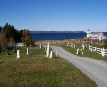 North view of St. Thomas of Villa Nova Cemetery. Photo taken August 2006; Kim Barnes, Town of Conception Bay South, 2007