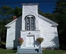 Milford United Baptist Church, Milford, NS, front elevation, 2009.; Heritage Division, NS Dept. of Tourism, Culture and Heritage, 2009