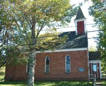 St. John's Anglican Church, Moschelle, N.S., southeast elevation, 2009.; Heritage Division, NS Dept. of Tourism, Culture and Heritage, 2009