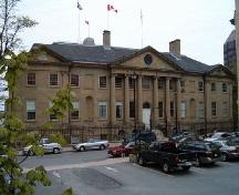 Province House, Halifax, Granville Street elevation, 2004.; Heritage Division, NS Dept. of Tourism, Culture and Heritage, 2004.
