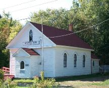 Tupperville School Museum, Tupperville, N.S., northeast elevation, 2009.; Heritage Division, NS Dept. of Tourism, Culture and Heritage, 2009