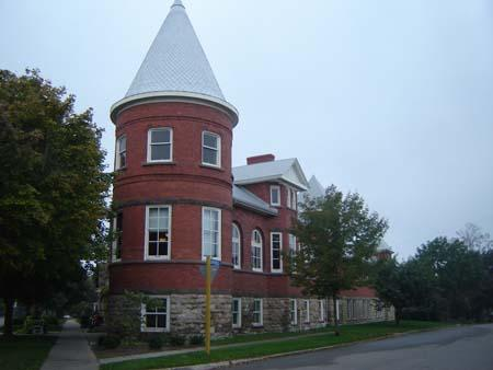 Tower, Goderich Public Library, 2007