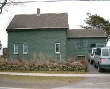 Front elevation of the Edmund Ellis House, Port Maitland, Yarmouth County, NS, 2006.; Heritage Division, NS Dept. of Tourism, Culture & Heritage, 2006