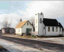 St. Paul's Anglican Church and Heritage House Municipal Historic Resource (October 2003); Northern Alberta Historical Railroad Society, 2003