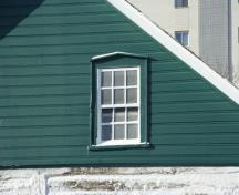 Detail view of the William Brown House, Winnipeg, 2007; Historic Resources Branch, Manitoba Culture, Heritage, Tourism and Sport, 2007