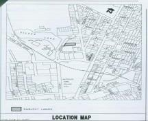 This plan shows the location of 47 Albert Street, 2007.; City of Waterloo, 2007.