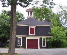230 University Avenue - front view of carriage house on site of the Carriage House Inn; City of Fredericton