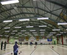 Interior view of the Granite Curling Club, Winnipeg, 2007; Historic Resources Branch, Manitoba Culture, Heritage and Tourism, 2007