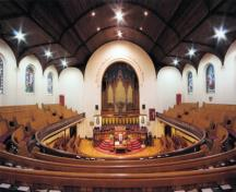 Interior view of St. Andrew's Presbyterian Church, 2008; City of Victoria, 2008