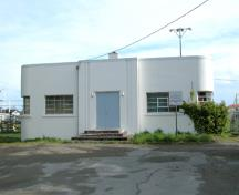 Maritime Naval Communications Centre, exterior view, 2004.; Derek Trachsel, District of Saanich, 2004