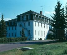 After years of alterations, Government House as it stood in its final stage.; Government of Saskatchewan, Frank Korvemaker, 1979.