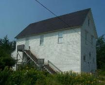 South elevation, Stormont Masonic Lodge, Isaac's Harbour, NS; Heritage Division, NS Dept. of Tourism, Culture and Heritage, 2009