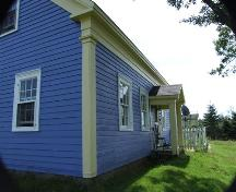 Front elevation, New Jerusalem Farm on McNutt's Island, Nova Scotia; Heritage Division, NS Dept. of Tourism, Culture and Heritage, 2009