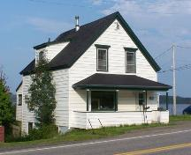 Front and north elevations, Campbell & McKeen Law Office, Guysborough, N.S.; Heritage Division, NS Department of Tourism, Culture and Heritage, 2009