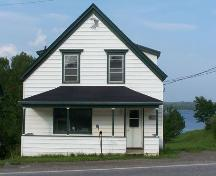Front elevation (west), Campbell & McKeen Law Office, Guysborough, N.S.; Heritage Division, NS Department of Tourism, Culture and Heritage, 2009