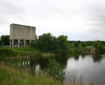 Contextual view, from the northeast, of the Oak Point Quarry, Oak Point area, 2009; Historic Resources Branch, Manitoba Culture, Heritage and Tourism, 2009