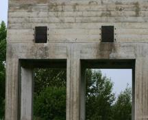 Detail of the Oak Point Quarry, Oak Point area, 2009; Historic Resources Branch, Manitoba Culture, Heritage and Tourism, 2009