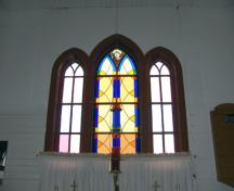 Interior view of St. Helen's Anglican Church, Fairford, 2007; Historic Resources Branch, Manitoba Culture, Heritage and Tourism, 2007