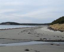 The beach at Clam Harbour Provincial Park.; Heritage Division, NS Dept. of Tourism, Culture and Heritage, 2009.