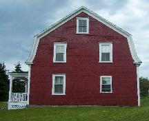 East Elevation, Reynolds House, Queensport, NS; Heritage Division, NS Department of Tourism, Culture and Heritage, 2009
