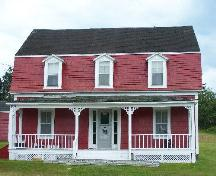 Front elevation, Reynolds House, Queensport, NS; Heritage Division, NS Department of Tourism, Culture and Heritage, 2009