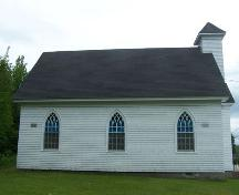 East elevation, Stormont Union Church, Stormont, NS; Heritage Division, NS Dept. of Tourism, Culture and Heritage, 2009