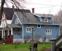 Showing east elevation; City of Summerside, 2009