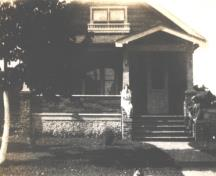 Showing house, c. 1930; MacNaught Archives Acc. 166.004