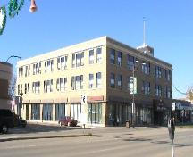 Street level view of Eaton's Store from southeast, 2004.; Government of Saskatchewan, Lisa Dale Burnett, 2004