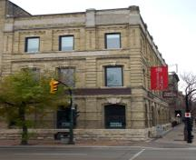 Primary elevation, from the north, of the Massey Building, Winnipeg, 2006; Historic Resources Branch, Manitoba Culture, Heritage and Tourism, 2006