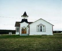 Front view, Jubilee United Church, Port Hood Island, Nova Scotia; Courtesy of Shirley Smith, 2004