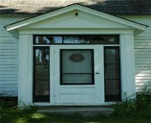 Porch Detail, Manson House, North Lochaber, Nova Scotia, 2009.; Heritage Division, N.S. Dept. of Tourism, Culture and Heritage, 2009.