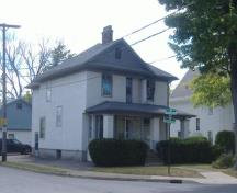 Brookfield-Cupido House on Division Street; Photo taken by Callie Hemsworth, Brock University, 2007