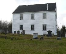 East Elevation, Gavelton Meeting House, Gavelton, NS, 2009.; Heritage Division, NS Dept. of Tourism, Culture & Heritage, 2009.