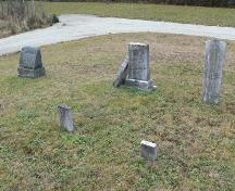 Burial Ground, Gavelton Meeting House, Gavelton, NS, 2009.; Heritage Division, NS Dept. of Tourism, Culture & Heritage, 2009.