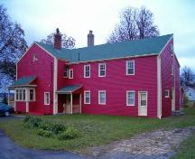Richard Brown House, Side Perspective, Sydney Mines, 2004; Heritage Division, Nova Scotia Department of Tourism, Culture and Heritage, 2004