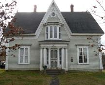 North elevation, Peter Lent Hatfield House, Tusket, NS; Heritage Division, NS Dept. of Tourism, Culture and Heritage, 2009