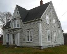 North and west elevations, Peter Lent Hatfield House, Tusket, NS; Heritage Division, NS Dept. of Tourism, Culture and Heritage, 2009