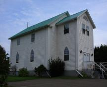 Showing front elevation; Images East Photography, 2008