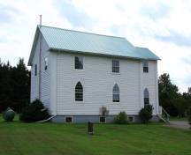 Showing side elevation; Images East Photography, 2008