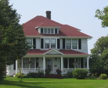 Showing front elevation; Province of PEI, Charlotte Stewart, 2009
