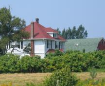 View of property from Georgetown Road; Province of PEI, Charlotte Stewart, 2009