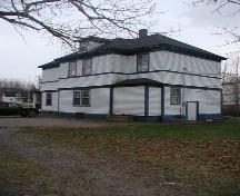 Rear view, Haus Treuburg Inn, Port Hood, Nova Scotia; Heritage Division, NS Dept. of Tourism, Culture and Heritage, 2002