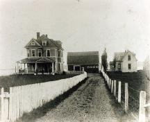 Historic image circa 1920, Haus Treuburg Inn, Port Hood, Nova Scotia ; Courtesy of the Chestico Museum & Historical Society