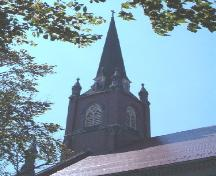 Steeple, St. Patrick's Church, Halifax, Nova Scotia, 2004.; Heritage Division, NS Dept. of Tourism, Culture and Heritage, 2004.