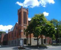 Central United Church, northwest view, 2007; Callie Hemsworth, Brock University, 2007