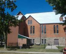 Central United Church, south facade, 2007; Callie Hemsworth, Brock University, 2007