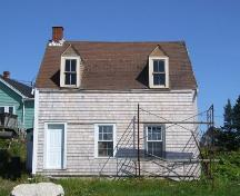 Front elevation, Mackey House, Ketch Harbour, Nova Sotia, 2007.; Heritage Division, NS Dept. of Tourism, Culture and Heritage, 2007