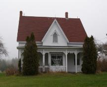 Front Elevation, Countway Home, Chester Basin, Nova Scotia.; Heritage Division, Nova Scotia Department of Tourism, Culture and Heritage, 2009.