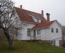 Rear Elevation, Countway Home, Chester Basin, Nova Scotia.; Heritage Division, Nova Scotia Department of Tourism, Culture and Heritage, 2009.